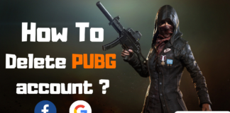 How to delete pubg account