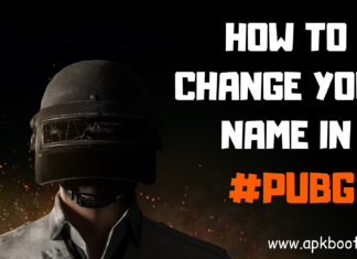 how to change name in pubg