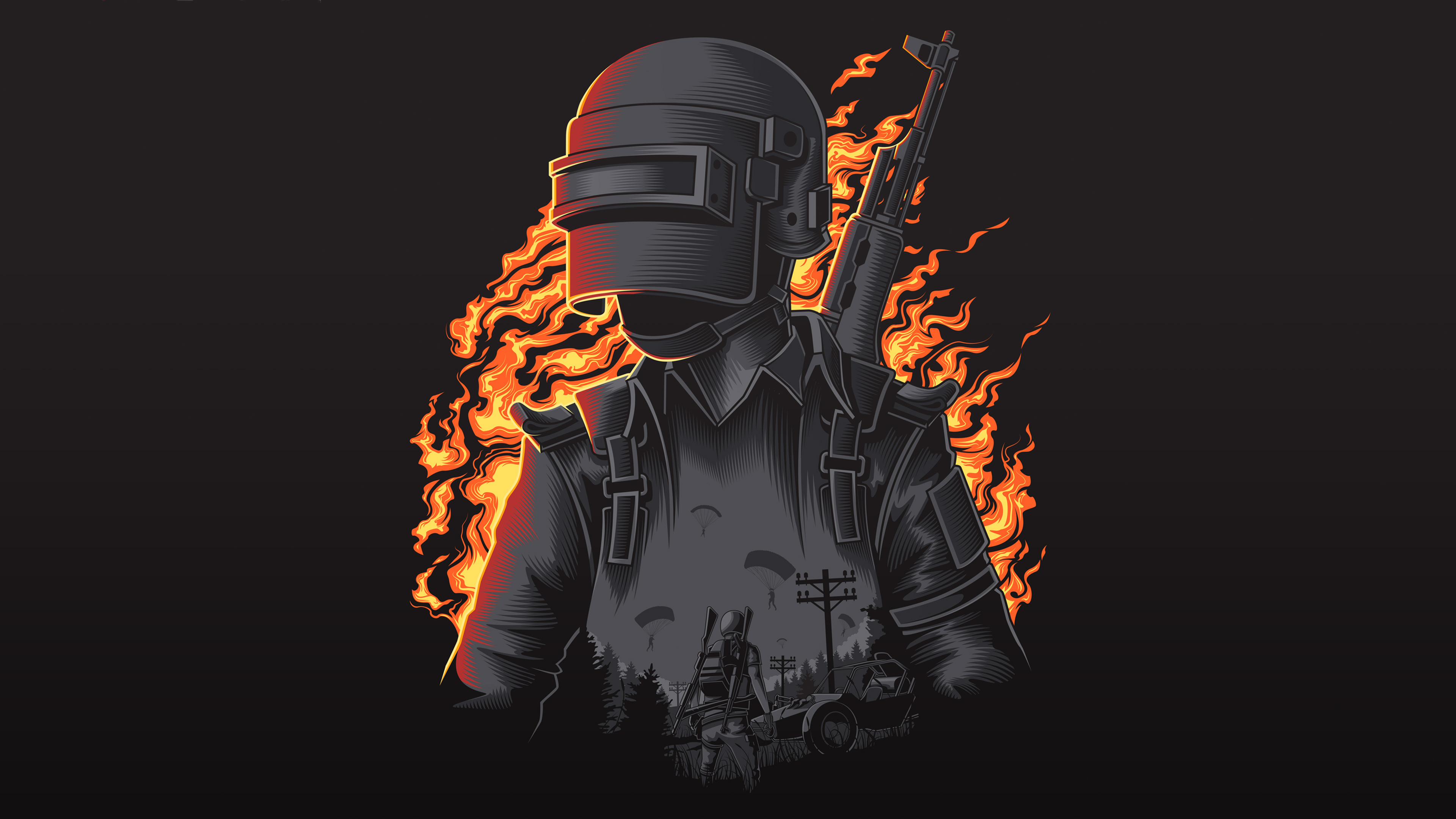 Pubg Helmet Wallpaper 4k: PUBG Wallpaper 4K/HD Of 2019 Download