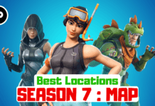 fortnite season 7 map