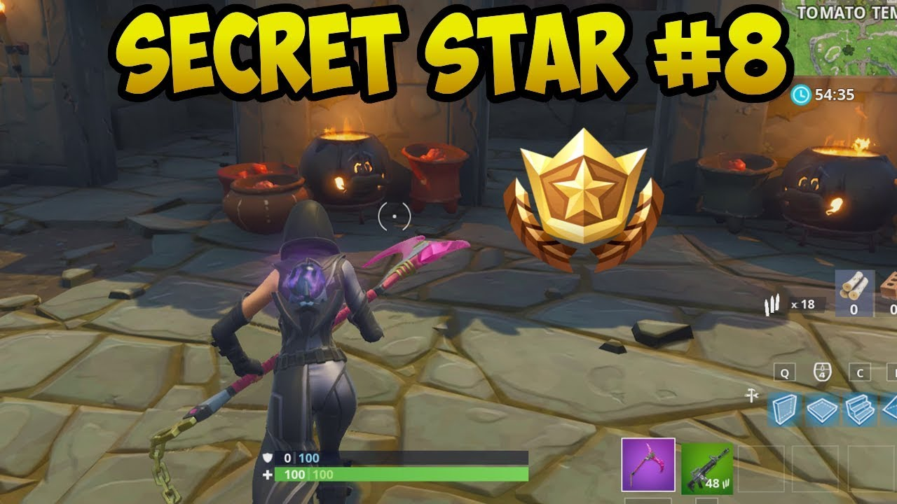 fortnite secret battle star