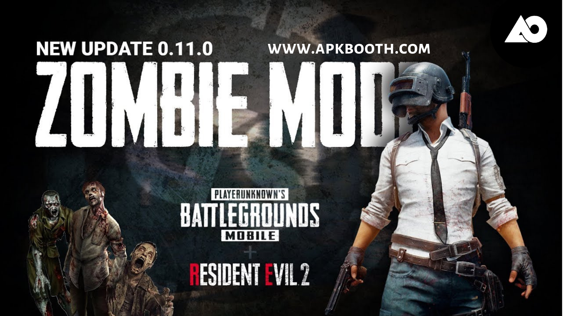 PUBG Mobile Official Update 0 11 0 [ Zombie Mode ]