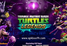 ninja turtles legends