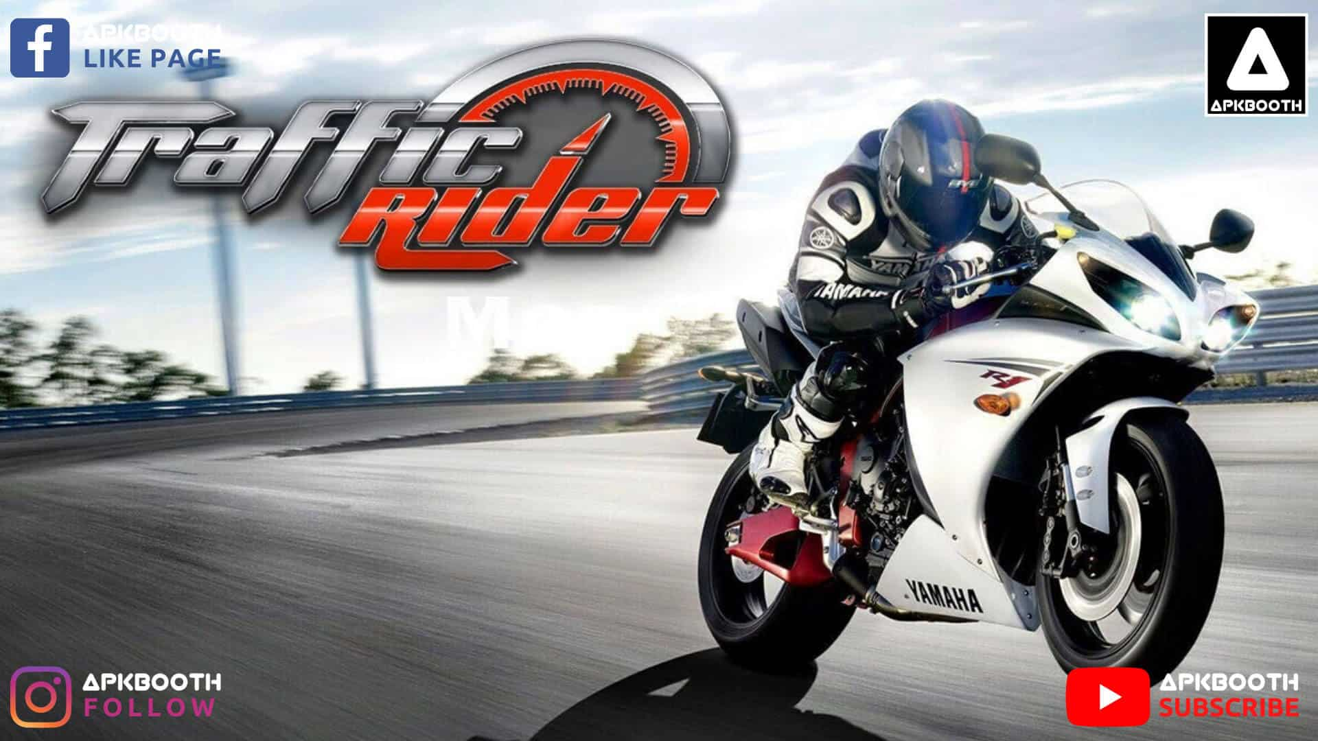 traffic rider modded apk