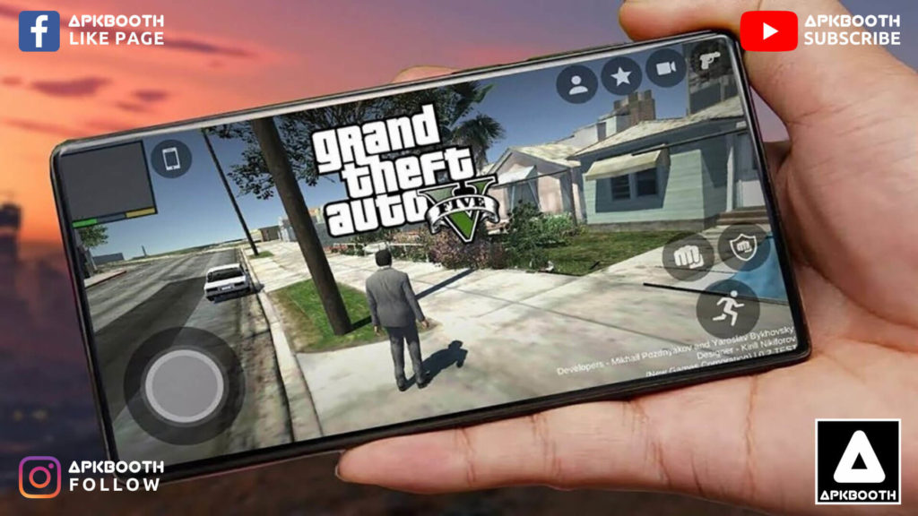 Download GTA 5 for Android Full APK Free