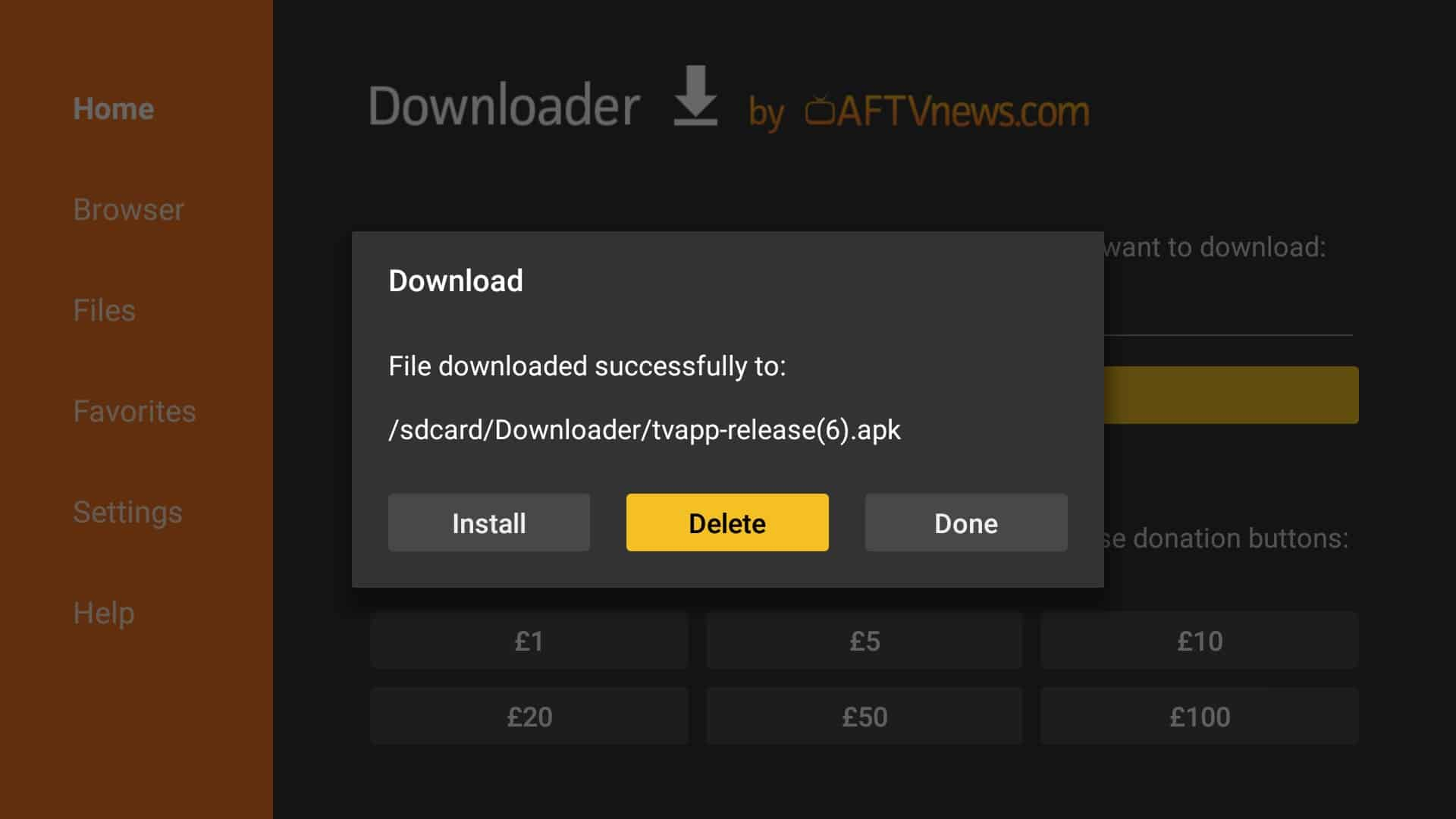 After downloading finish, click Install