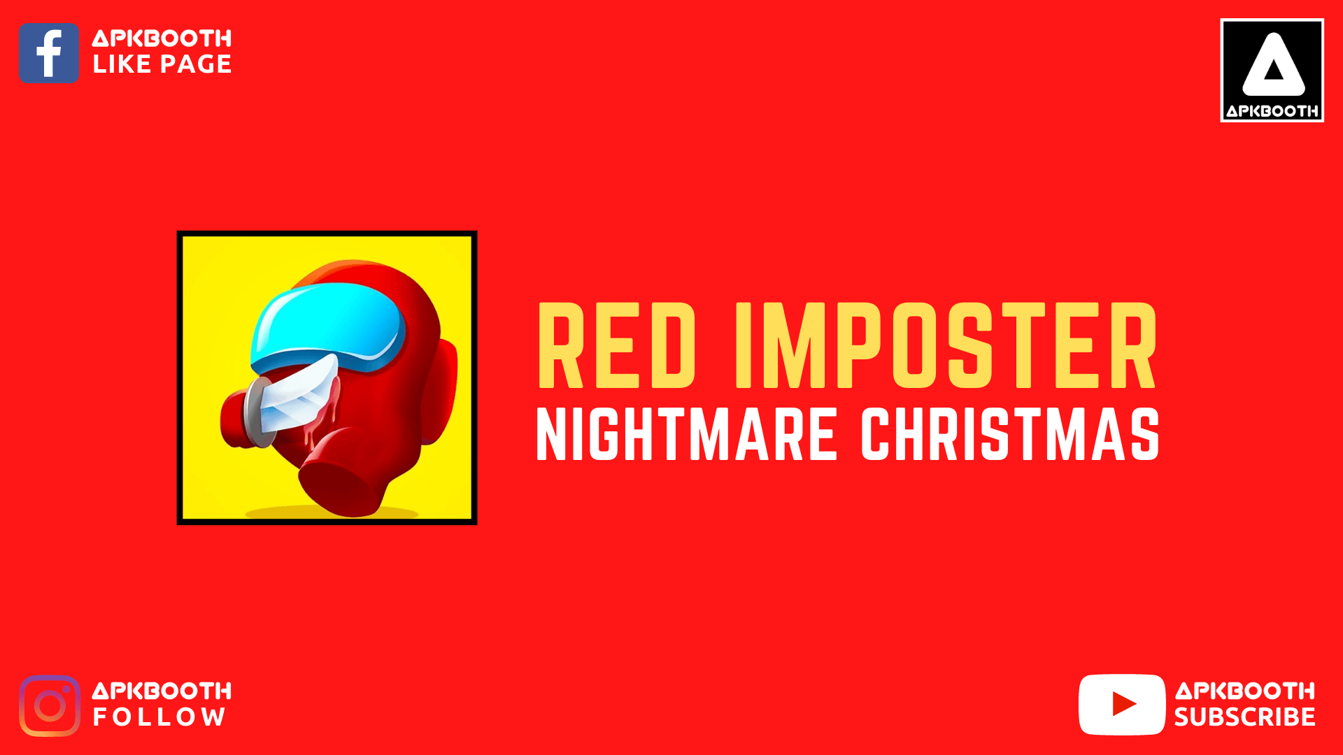 Red Imposter: Nightmare Christmas Mod Apk