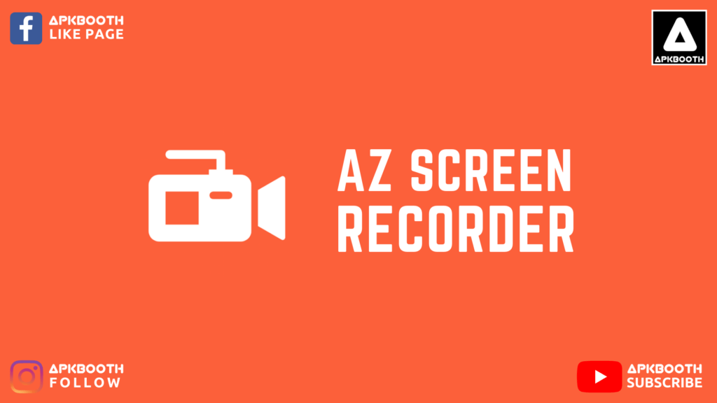 az screen recorder mod apk